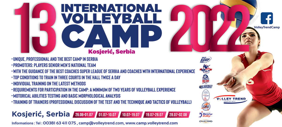 VOLLEYTREND CAMP - Coaches